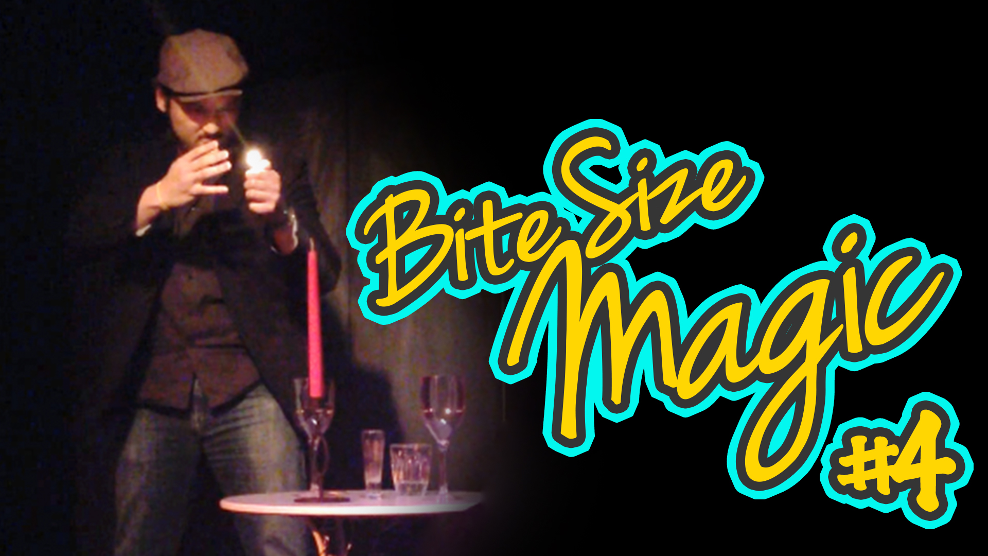 Bite Size Magic – A Date with a Magician – Stage Magic Illusions