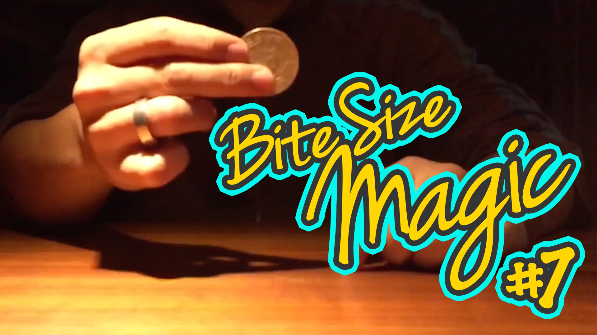 Bite Size Magic – Slow Mo Coin Spin – Coin Magic